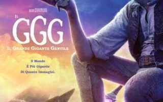 Cinema: cinema ggg spielberg avventura fantasy