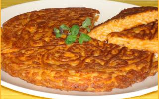 ricetta  frittata  riciclo  pasta