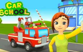 cartoni animati  bambini camion pompieri