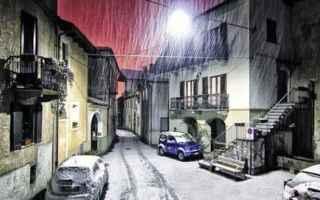 neve  strade bloccate