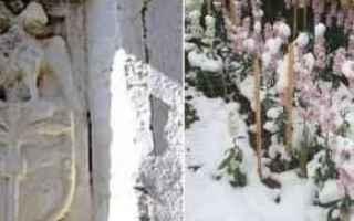 puglia  salento  neve  inverno