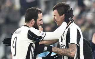 Serie A: juve mandzukic dybala titolare higuain