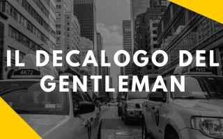 gentleman  eleganza maschile  stile uomo