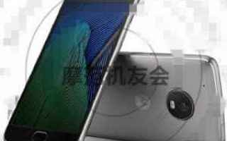 Cellulari: android  leaks  motorola  moto g5 plus