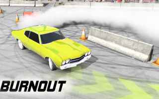 Mobile games: burnout  android  corse  auto  pimpos