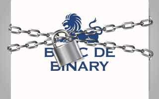 Banc de Binary società capitalizzata del valore di più di 500 milioni di dollari ha chiuso i batte
