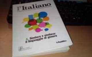 Libri: linguaggio di genere  sessimo  italiano