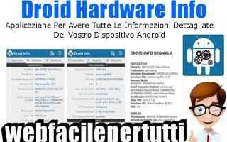 droid hardware app informazioni