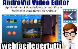 Software Video: androvid  app  video  editing