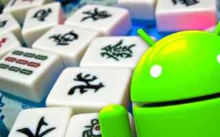 Mobile games: mahjong android videogames giochi