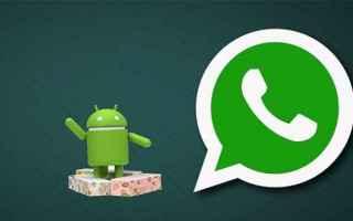 whatsapp  app  nougat  beta  notifiche