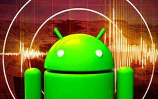 terremoto  sisma  android  italia