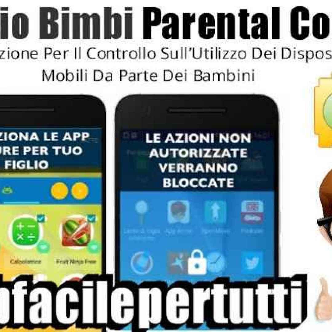 spazio bimbi parental control app
