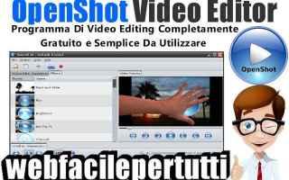 openshot video editor   video editing