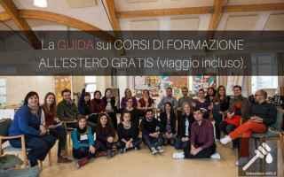 Scuola: corsi di formazione  viaggiare  estero