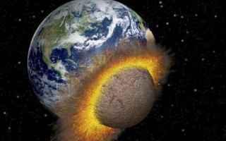 asteroidi  bombardamento  luna  terra