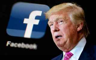 Internet: messaggio  bufala  facebook  trump