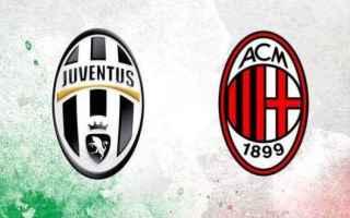 Calcio: juentus  milan  juve  coppa italia