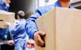 Lavoro: trasporto mobili  traslochi