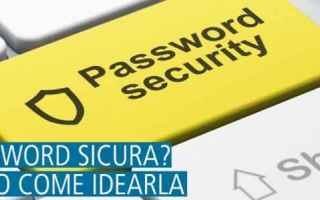password sicura  password frase  scelta