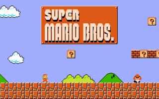 Mobile games: super mario bros  super mario run  download apk  retrogame