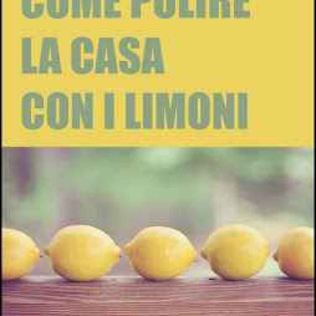 pulizie casa  prodotti ecologici  limone