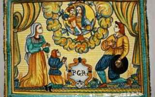 Religione: deruta  ceramica  umbria  santuario