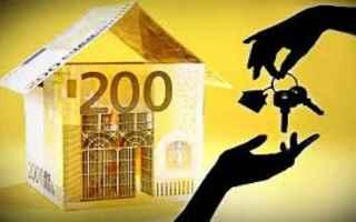 Casa e immobili: contratto  locazione  non  registrato