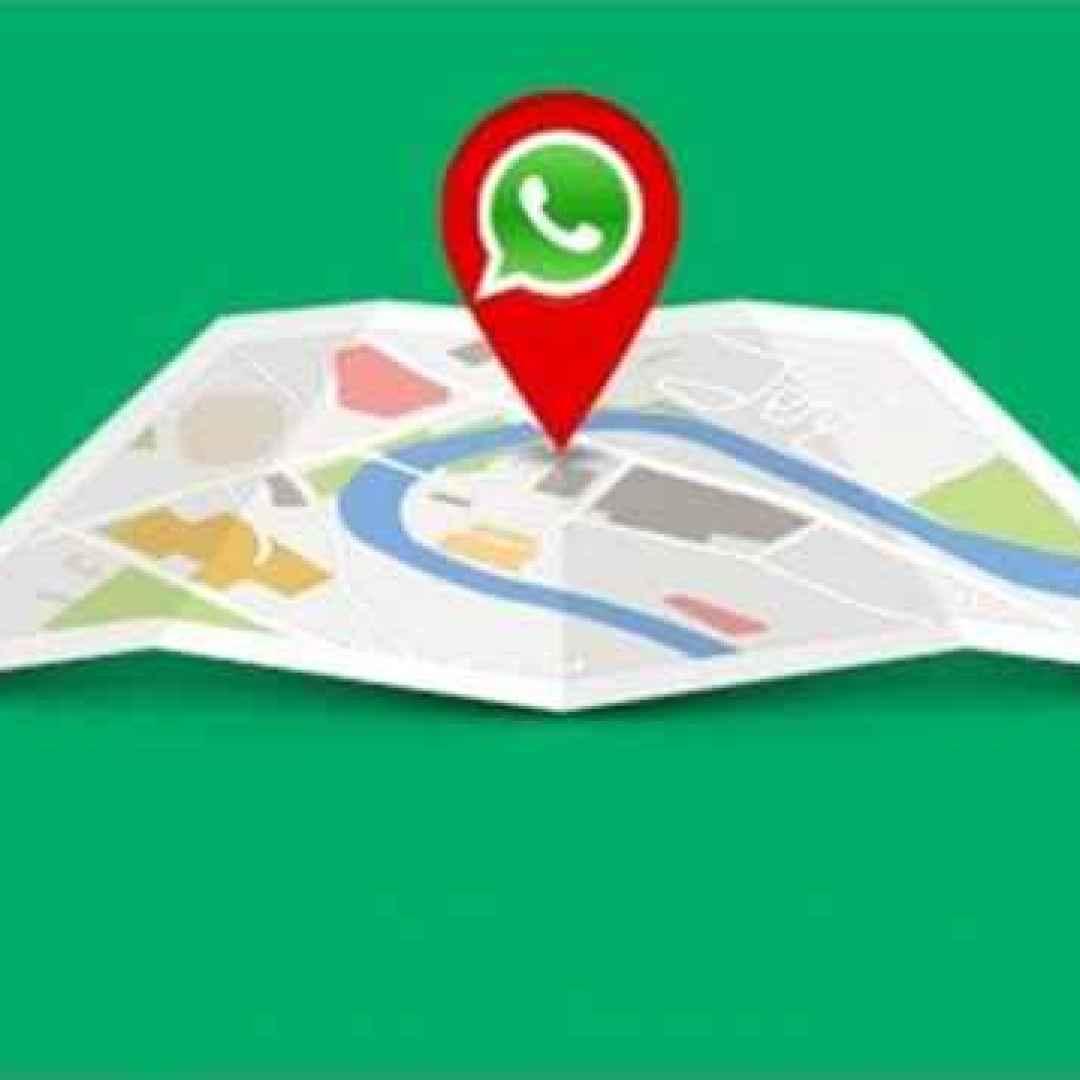 whatsapp  gps  posizion  privacy