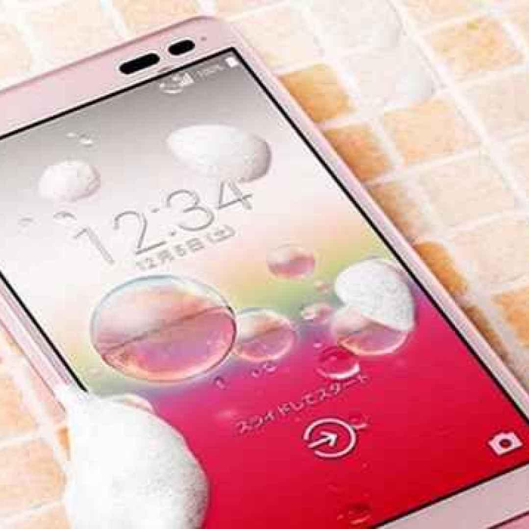 kyocera  rafree  smartphone  android