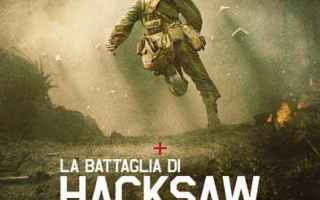 Cinema: film storia vera  hacksaw ridge cinema