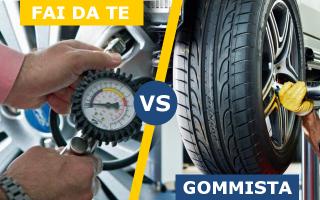 Automobili: pneumatici  manutenzione  auto  gommista
