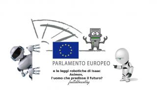 Leggi e Diritti: robot  parlamento europeo  leggi  libri