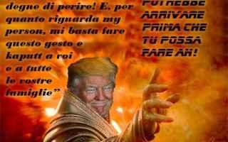Satira: donald trump  apocalisse