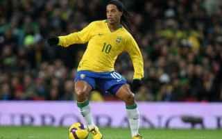 Calcio: dribbling  ronaldinho  brasile  tutorial