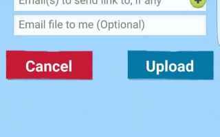 File Sharing: sendspace  inviare file