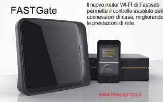 Hardware: fastweb  router  fastgate