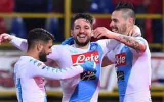 Serie A: triplette  mertens  hamsik  napoli