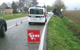 incidente auto moto cologna muore