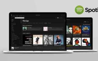 Audio: spotify  cartelle  playlist