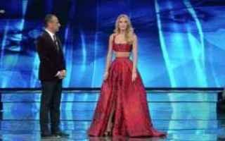 Televisione: sanremo 2017  diletta leotta  conti