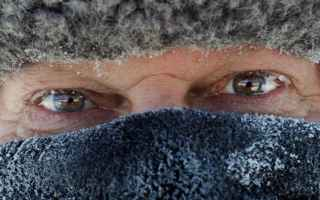 Medicina: freddo  assideramento  salute
