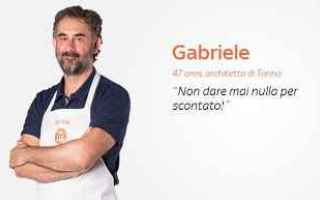 Televisione: masterchef italia cucina gabriele