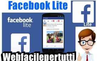 facebook lite  facebook  app