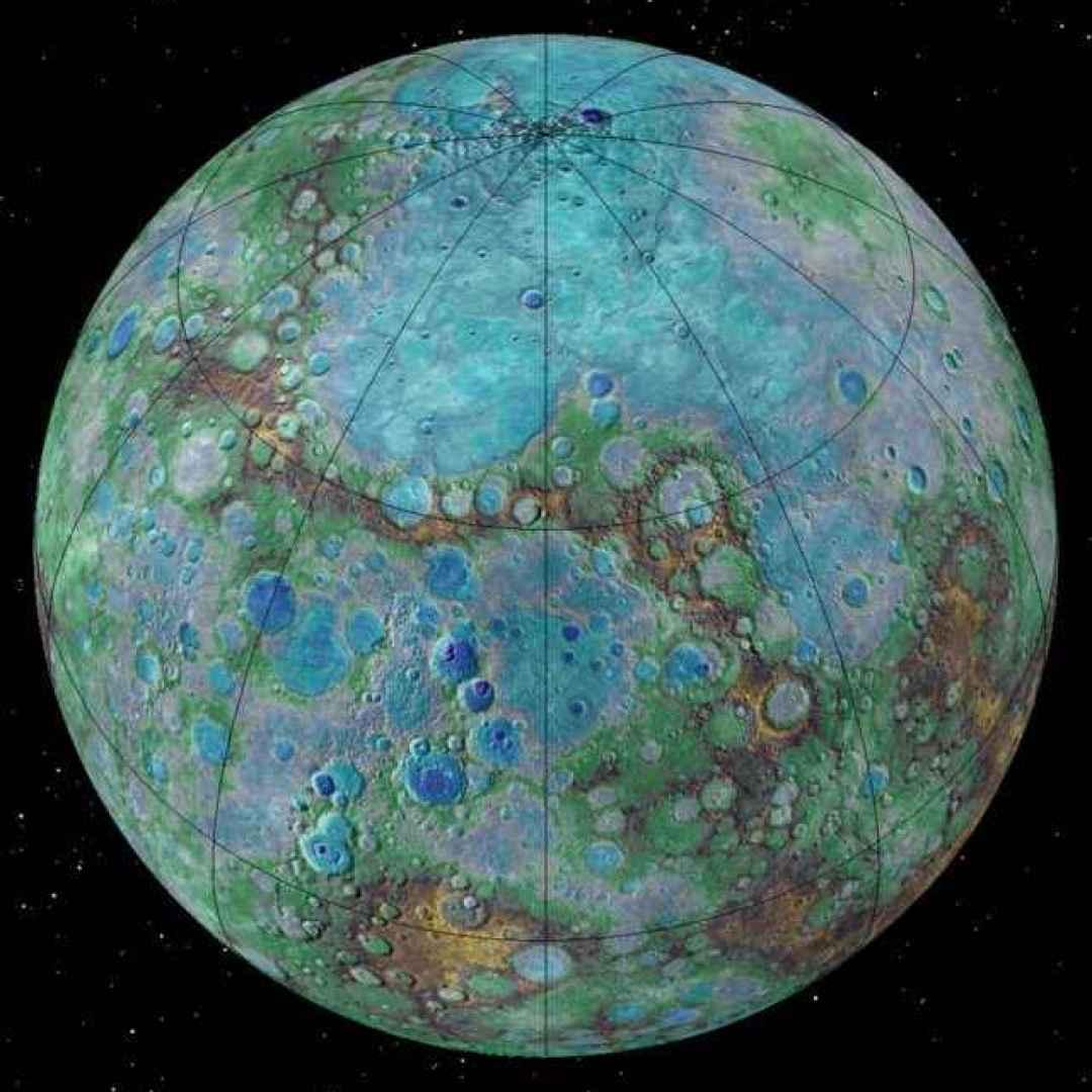 comete  ghiaccio  mercurio  messenger