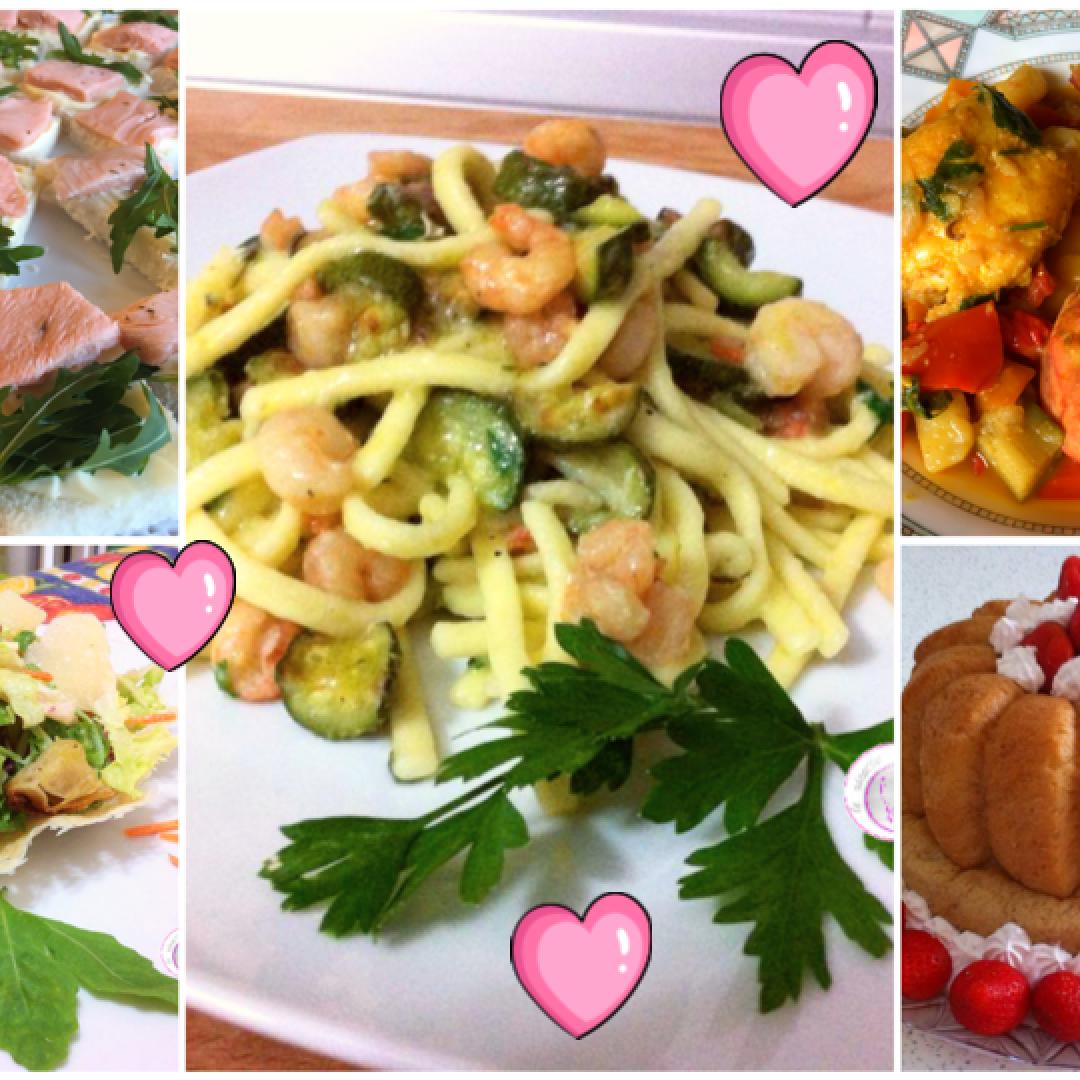 cena  innamorati  ricette