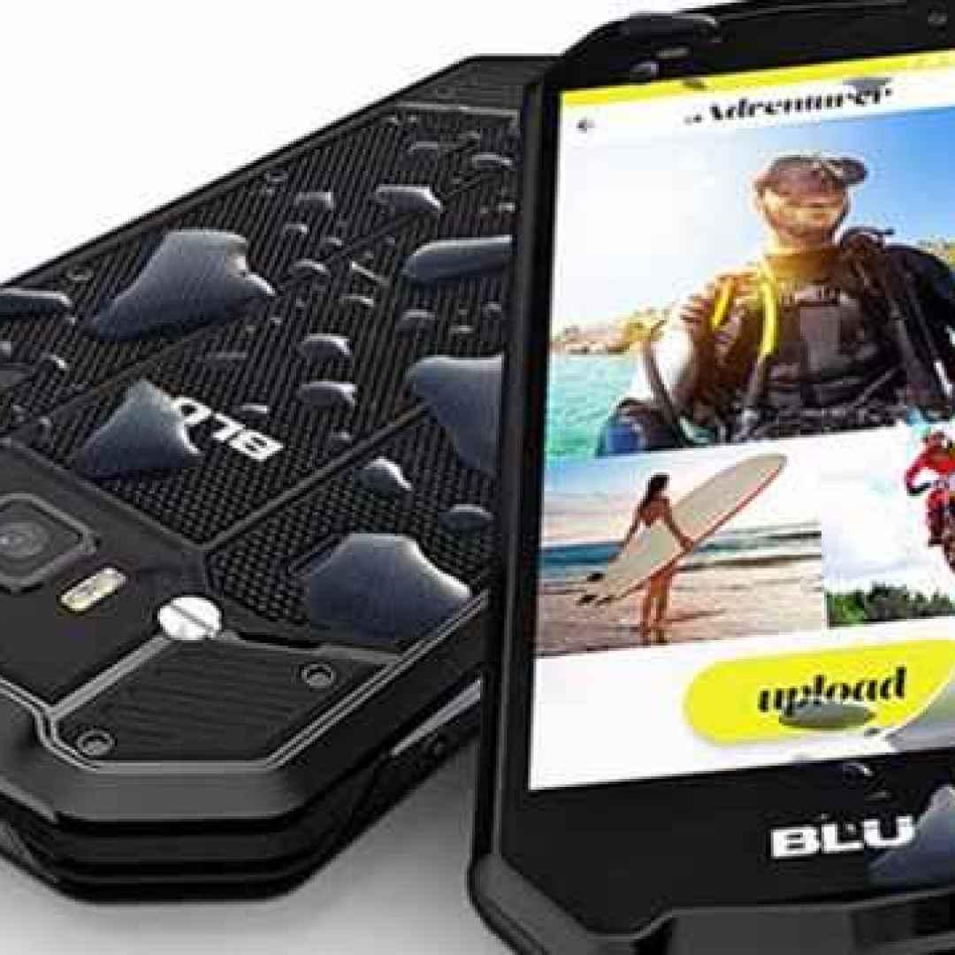 smartphone  rugged  blu