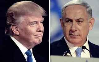 trump  netanyahu  palestina