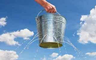Ambiente: sprechi  sprechi acqua  acqua  multe