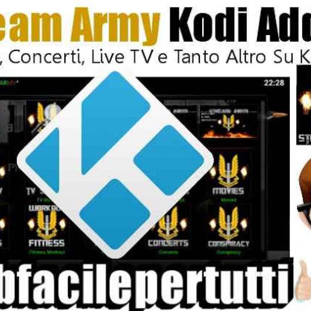 stream army  kodi  addon  streaming